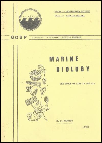 1980 GOSP Unit 2 Marine Biology classroom notes