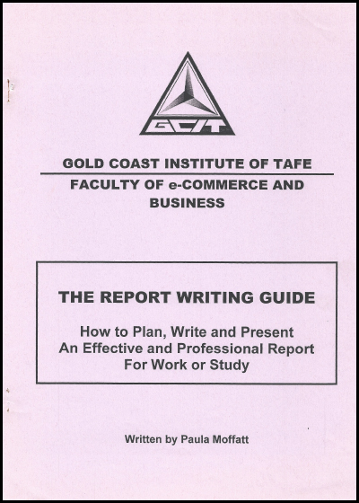 1990 TAFE Report writing guide