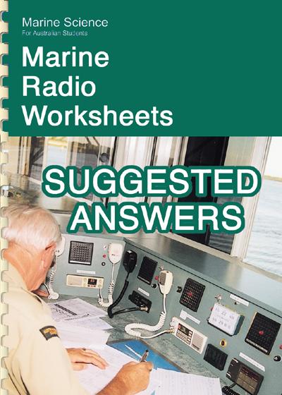 F 05P Marine radio worksheet answers
