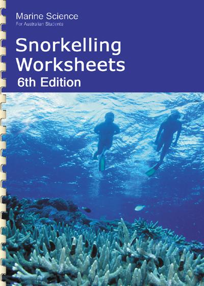 F 17P Snorkelling worksheets