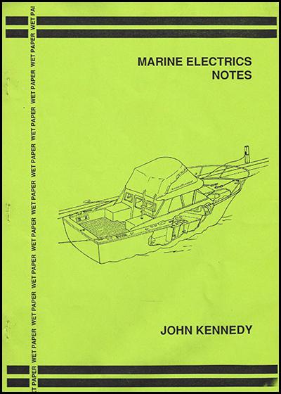 F 63P Marine Electrics notes
