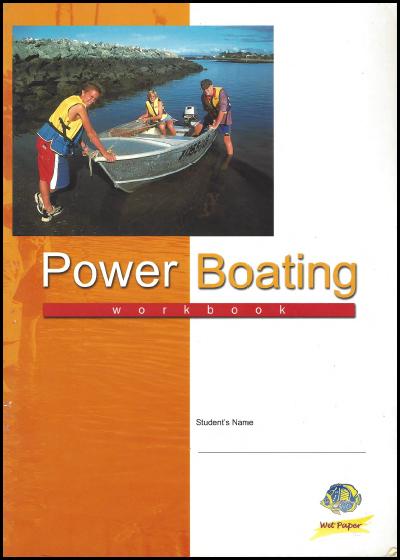 F 69P Power boating 1st Ed