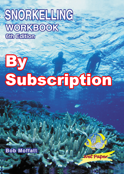 Snorkelling workbook by subscription